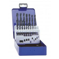 Urbju komplekts 1.0mm- 10.0mm, HSS-R,  DIN338, 19gab./komplektā