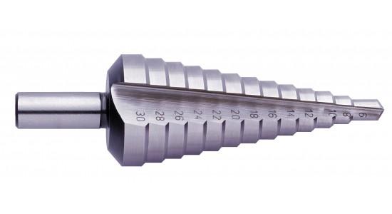 Pakāpju urbis 9-36mm, HSS, solis 3.0mm