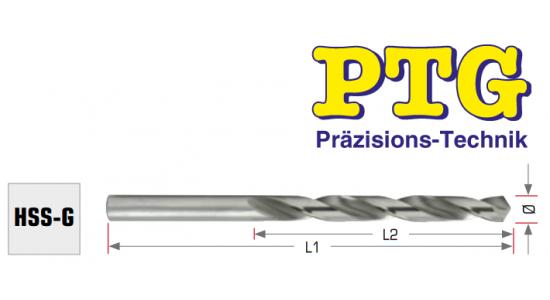 Urbis metālam PTG HSS - G, 4.5mm, 47/80mm