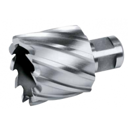 """Koroņurbis magnētiskai urbjmašīnai HSS,Weldon 3/4"""", 55mm, 40mm"""